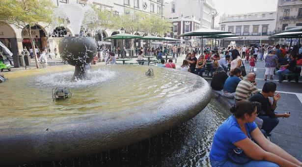 Vuelven a encender las fuentes de Guadalajara